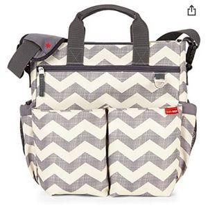 NWT  SKIP HOP Diaper Bag Chevron